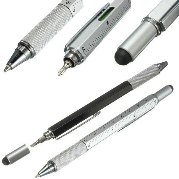 6 v 1 multifunkční pero pro kutily