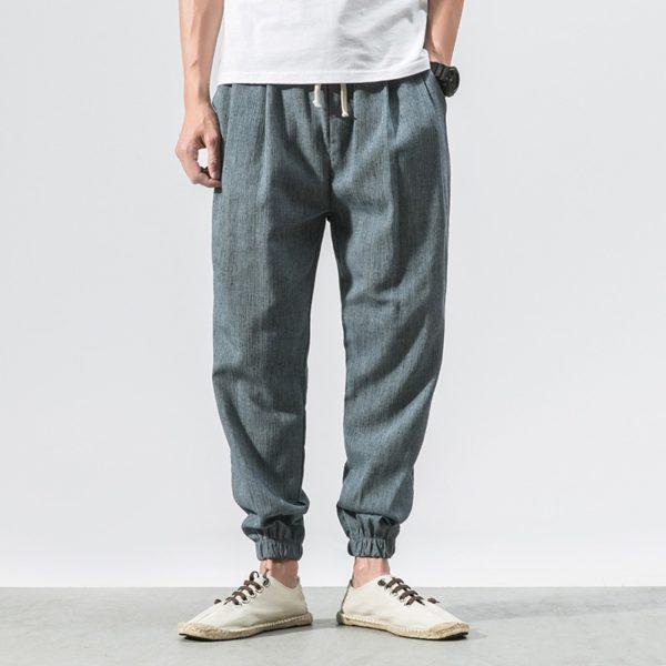Harémové pánské volné kalhoty