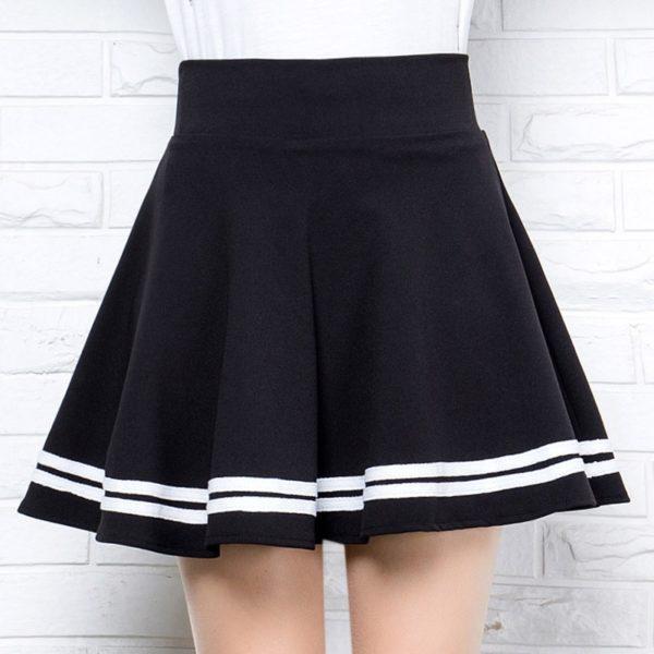 Dámská áčková krátká sukně