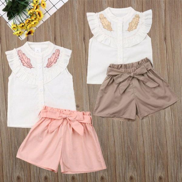 Dětský letní set oblečení pro holčičky