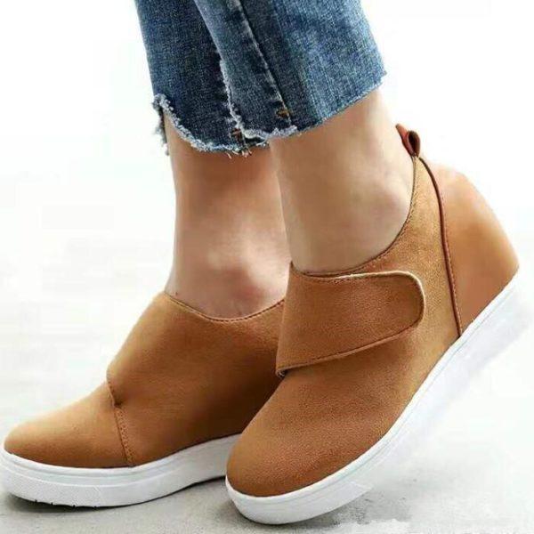 Dámské ležérní boty na platformě