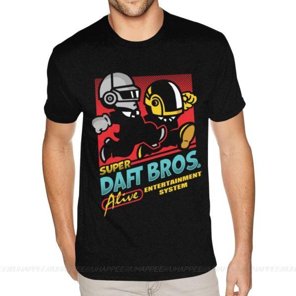 Pánské volnočasové tričko Daft Punk