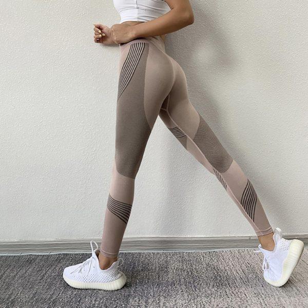 Dámské stylové fitness legíny Nicola