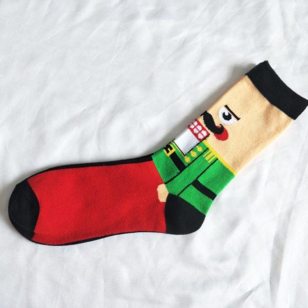 Pánské vysoké ponožky s vtipným dekorem