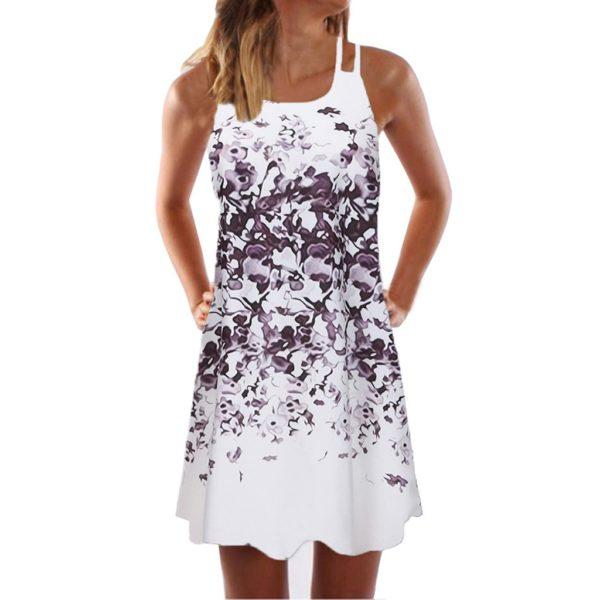 Dámské letní květované šaty Erika