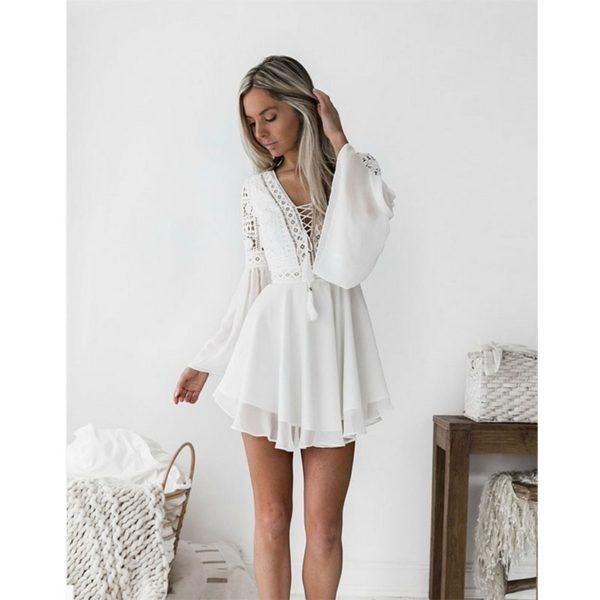 Luxusní mini šaty Caroline