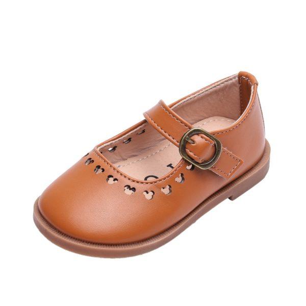 Dětské společenské botičky pro dívky