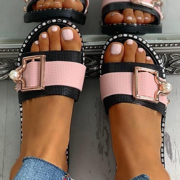 Luxusní sandálky s perličkou