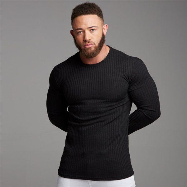 Pánský moderní slim fit svetr Micheal