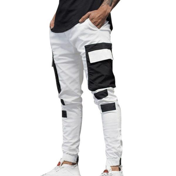 Pánské moderní jogger kalhoty s kapsami Mike
