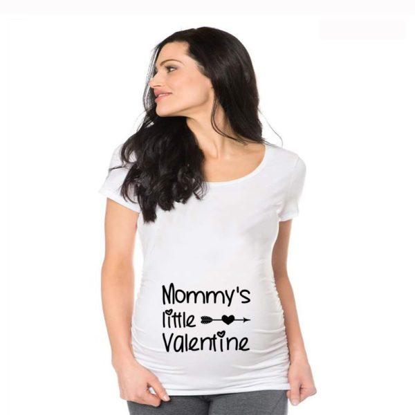 Těhotenské dámské triko s legračním potiskem