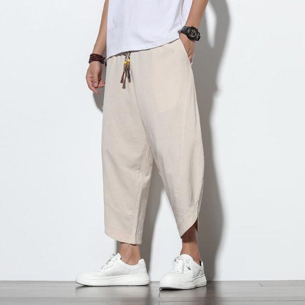 Pánské moderní letní harem kalhoty Michael