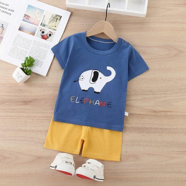 Dětský roztomilý set kraťas a trička