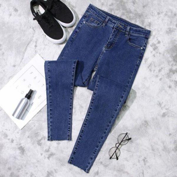 Jarní uplé dámské džíny - více variant