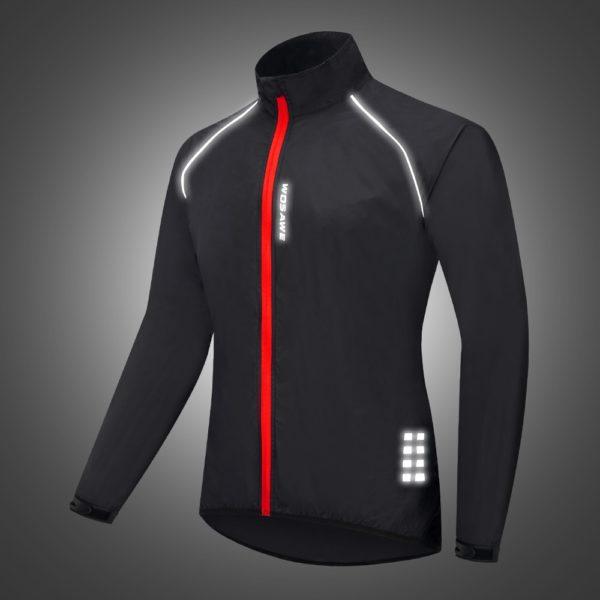 Pánská běžecká nepromokavá bunda bez kapuce