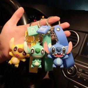 Krásný přívěšek na klíček Stitch