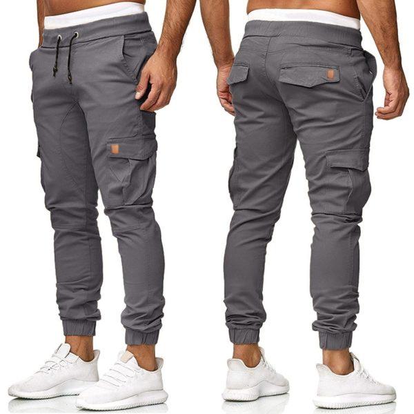 Stylové pánské kalhoty s kapsami Kermond