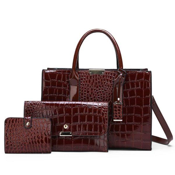 Luxusní set kabelky a psaníčka Lousie
