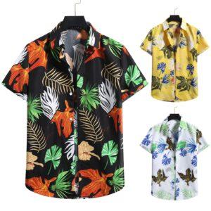 Pánská volná košile v havajském stylu