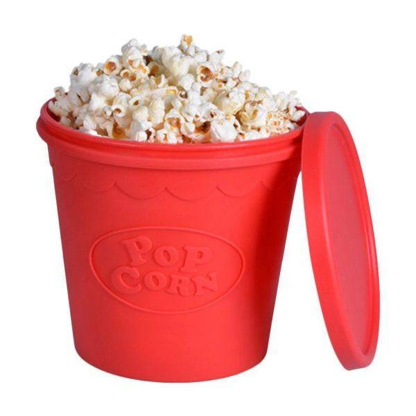 Silikonový kbelík na popcorn