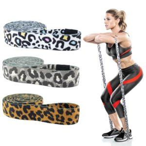 Bavlněná leopardí odporová guma na cvičení
