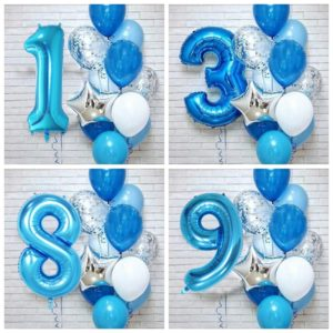 Nafukovací balónky pro chlapce