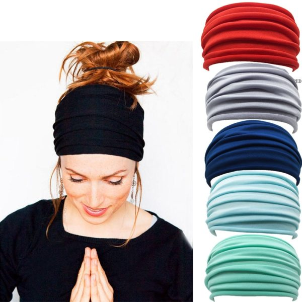 Dámský elastický šátek do vlasů