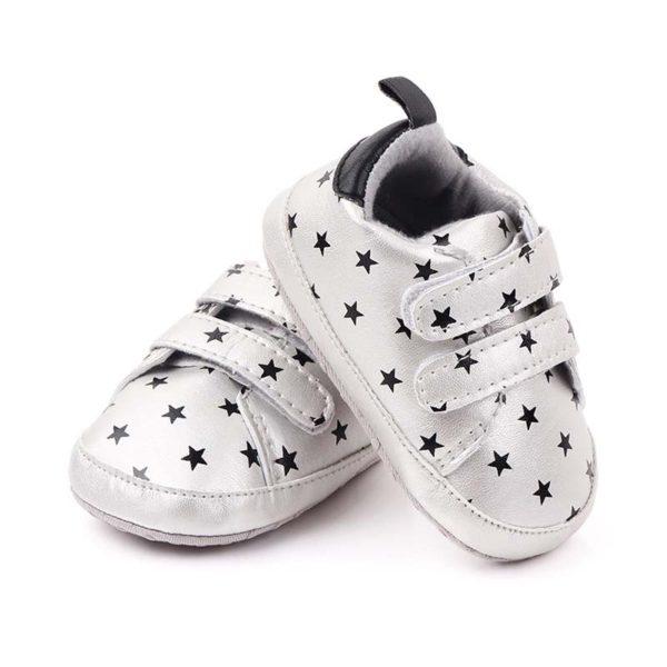 Stylové botičky s hvězdičkami na suchý zip