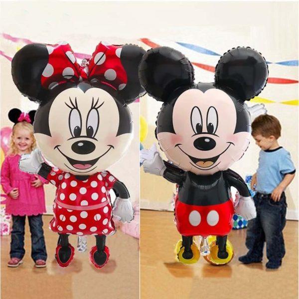 Obří balónky s Mickey mousem