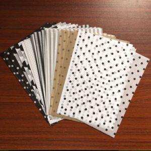 100 listů hedvábného balícího papírů A5