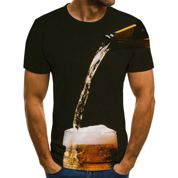 Vtipné unisex tričko s potiskem piva