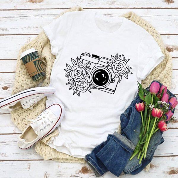 Dámské roztomilé módní letní triko s různými motivy