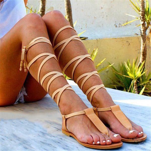 Originální vysoké sandály Ciara