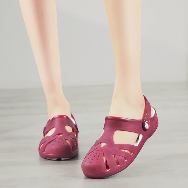 Dámské letní gumové pantofle Cork