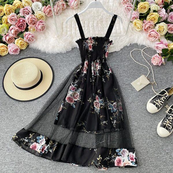 Nádherné květinové šaty Darcy