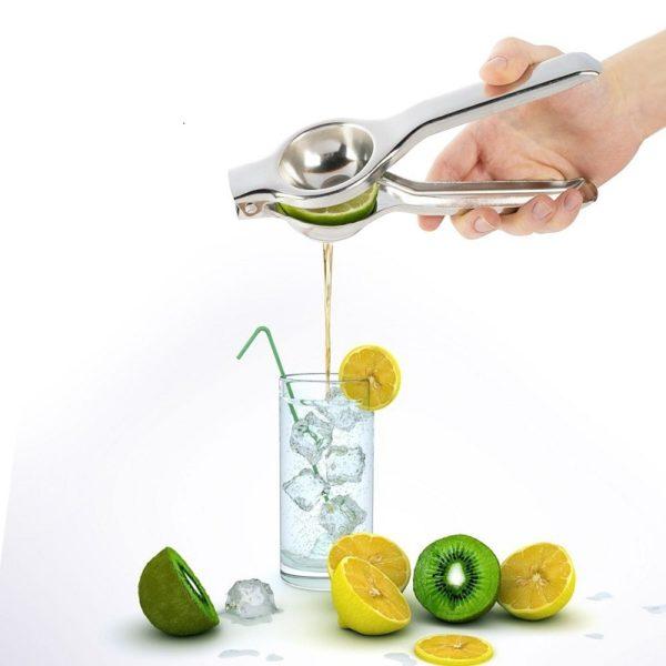 Praktický lis na citrony z nerezové oceli
