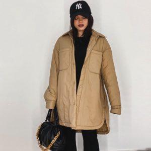 Dámský dlouhý kabát Susanna