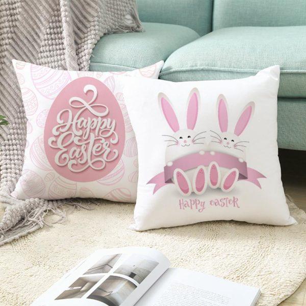 Veselé velikonoční povlaky na polštáře