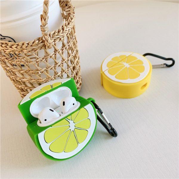 3D citrusový obal na airpods