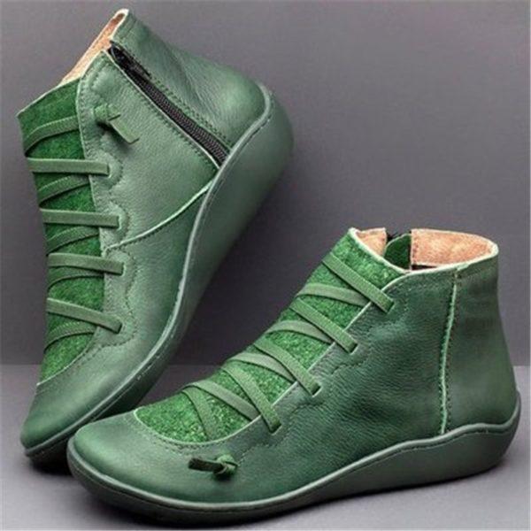 Dámské pohodlné vycházkové boty Laura