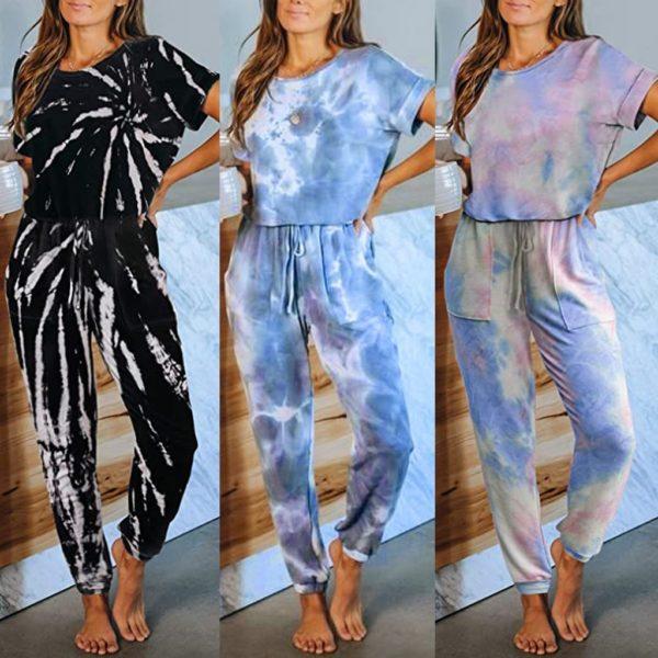 Originální dámský pyžamový overal