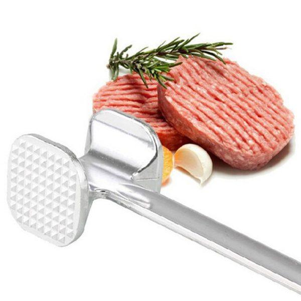 Hliníková kvalitní kuchyňská oboustranná palička na maso