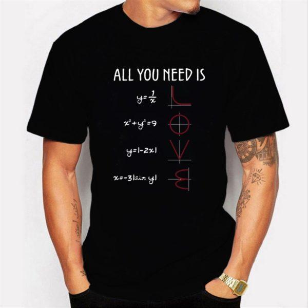Pánské vtipné matematické tričko s krátkým rukávem