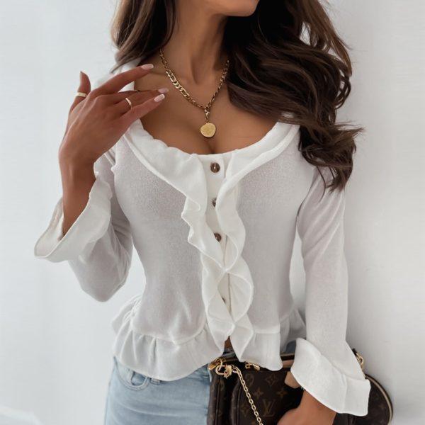 Dámská elegantní košile s volánky Zita