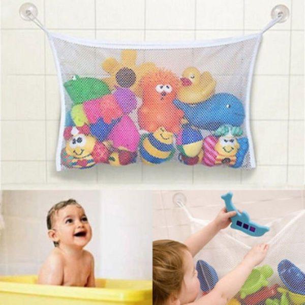 Dětská síťka na hračky do koupelny