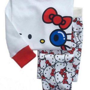 Dívčí bavlněná pyžama