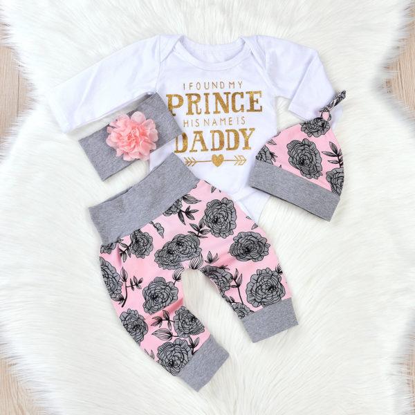 Dívčí kojenecký set tatínkova princezna