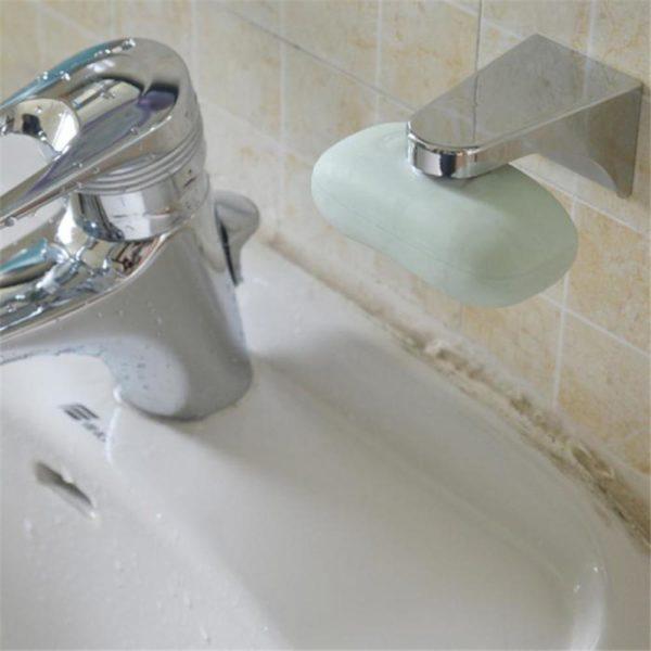 Magnetický nástěnný luxusní držák na mýdlo