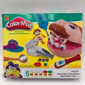 Dětská vzdělávací hračka s plastelínou