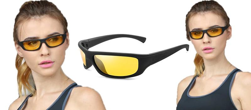 Dámské sluneční brýle na řízení